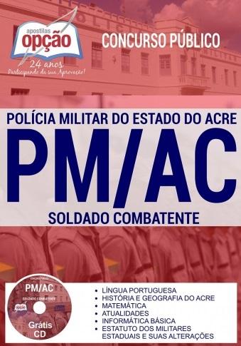 Apostila Bombeiros-AC Soldado combatente, para o concurso CBMAC 2018