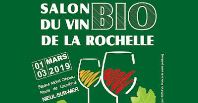 Blog vin Beaux-Vins evenements dégustation oenologie sortie Mars Salon du vin bio de La Rochelle