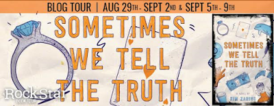 Sometimes We Tell the Truth Blog Tour banner