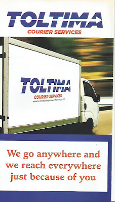 AWARENESS: TOLTIMA  COURIER SERVICE
