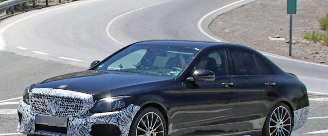 Mercedes C-Class Facelift Looks About Ready For Its Big Debut