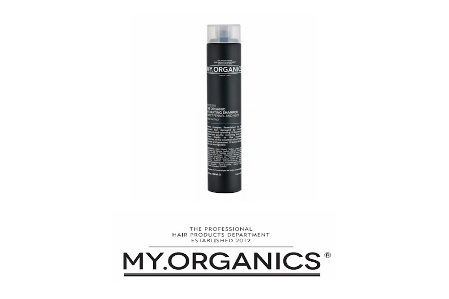 The Organic Hydrating Shampoo Sweet Fennel and Aloe de My Organics