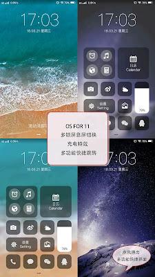 IOS 11 V3 Theme itz For Vivo