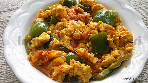 Paneer Bhurji, Paneer Recipes