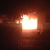 Carro da Emater pega fogo e polícia não descarta possibilidade de atentado