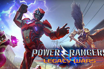 Download Game Android Power rangers: Legacy wars v1.0.1 Apk + Data