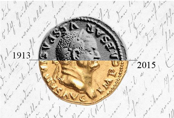 Proveniencia de monedas antiguas