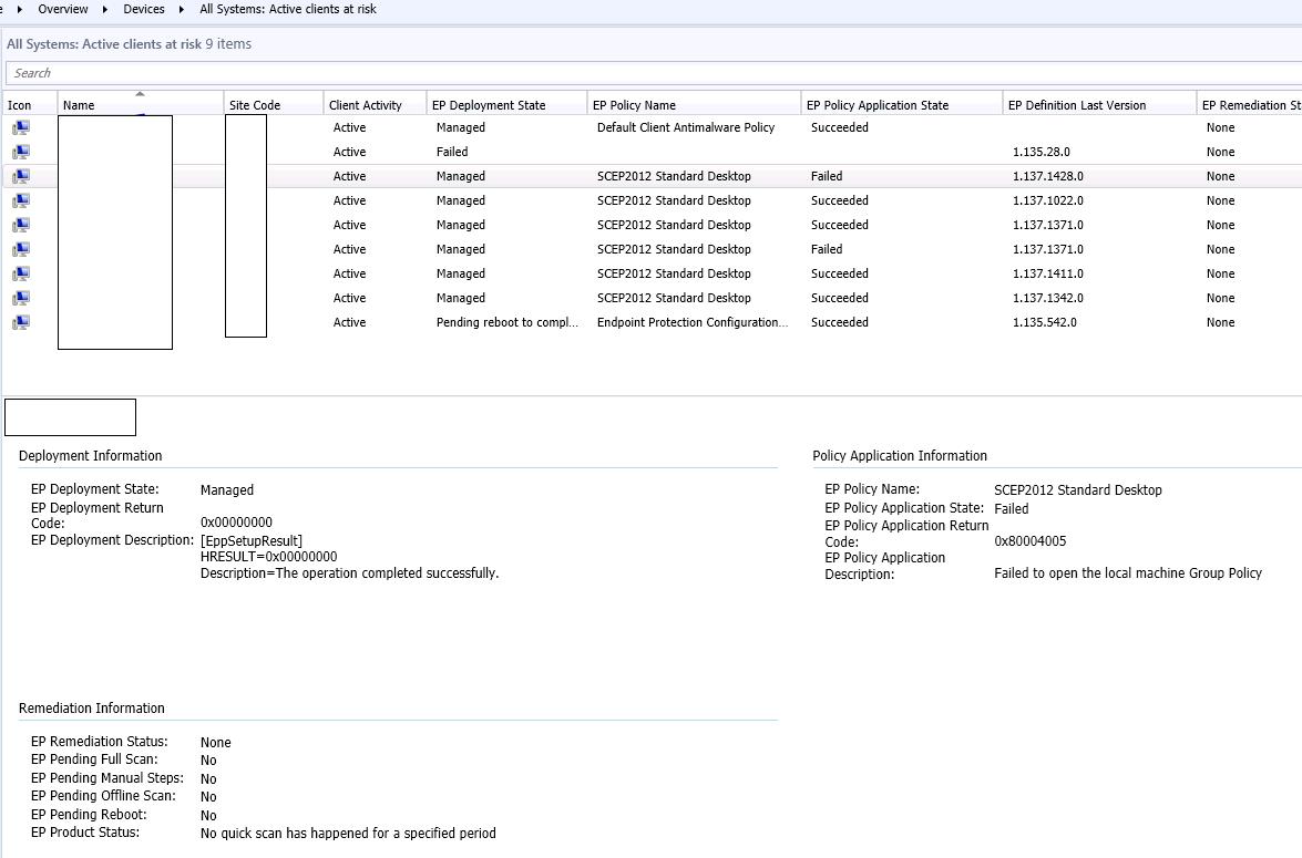 System Center Configuration Manager: SCCM 2012 - Fix