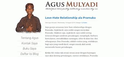 Blogger Indonesia Terkeren dan Inspiratif [Kategori Personal Blog]