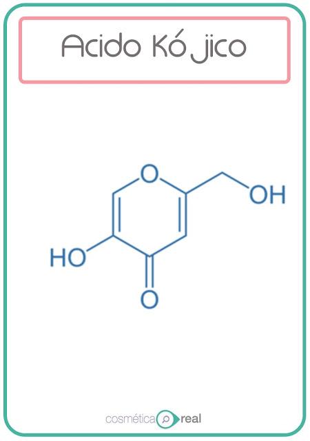 Ácido kójico Cosmeceutico Despigmentante
