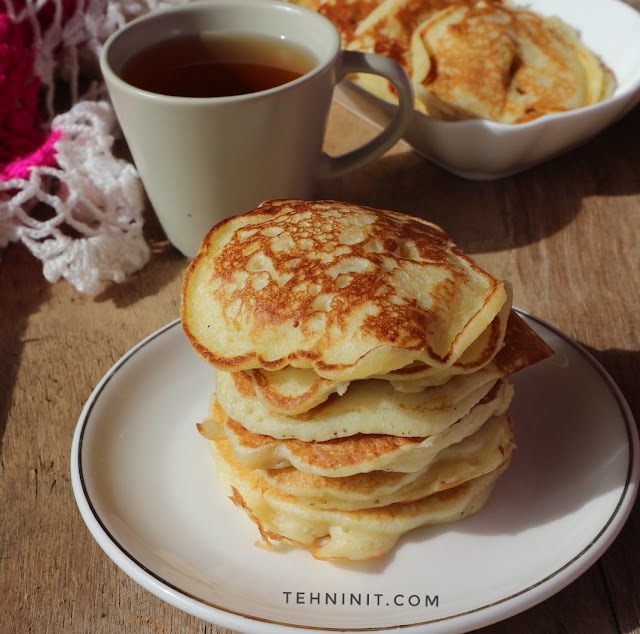 Pancake Pisang Buttermilk