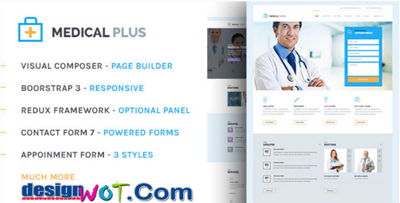 Health Plus - Health and Medical Theme