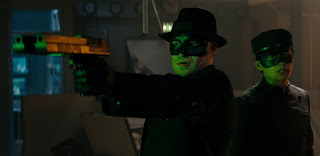Seth Rogen and Jay Chou - the Green Hornet 2011