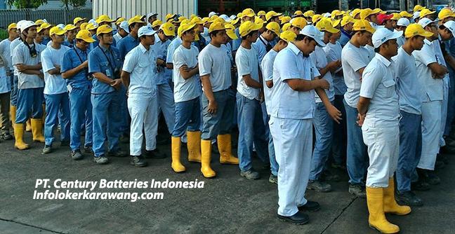 Lowongan Kerja PT. Century Batteries Indonesia Karawang Factory