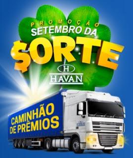 Cadastrar Promoção Havan 2017 Setembro da Sorte Caminhão de Prêmios