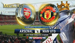 Prediksi Judi Bola Arsenal vs Manchester United 7 Mei 2017