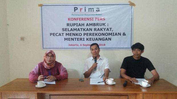 Rupiah Ambruk: Pecat Menko Perekonomian & Menteri Keuangan