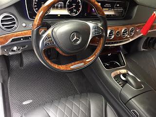 Thảm lót sàn Mercedes S450
