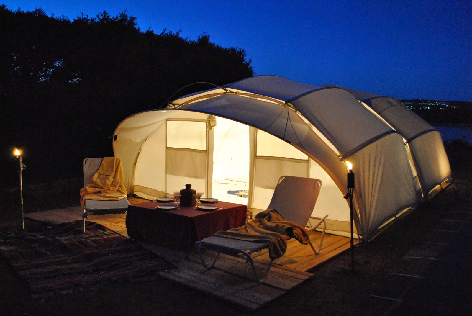 Tent Ctent glamping luxury cool