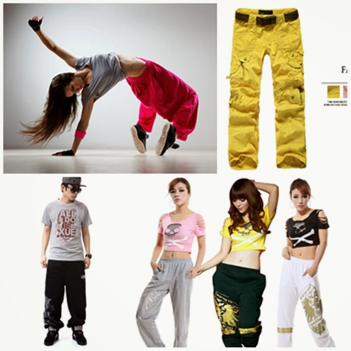 foto de roupa para dança de rua