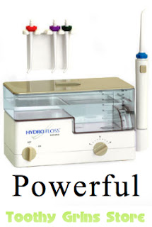 Hydro floss has been peer reviewed and validated to do more