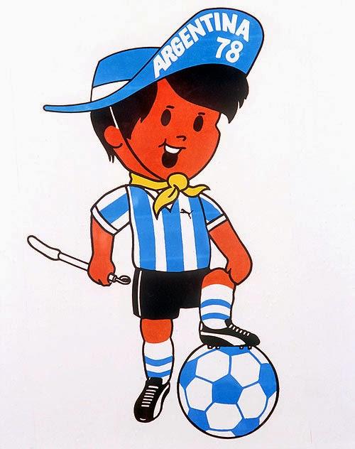 Gauchito Mascota del Mundial de Futbol año 1978 Argentina