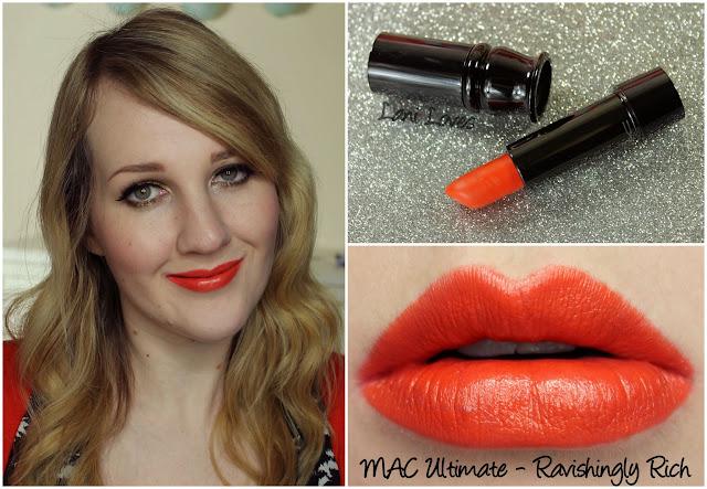 MAC Ravishingly Rich Ultimate lipstick swatch