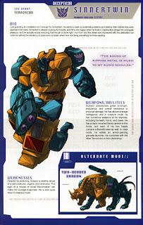 Transformer Sinnertwin