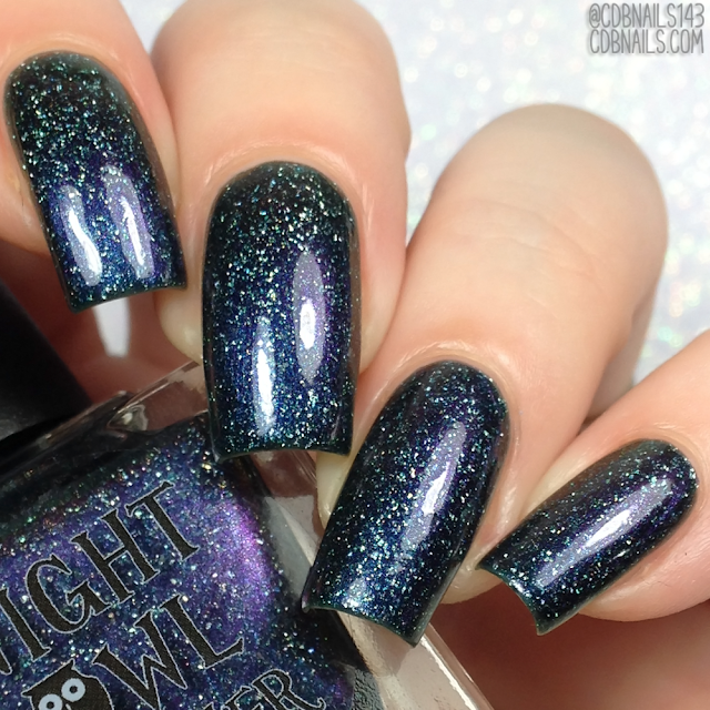 Night Owl Lacquer-Endless Night