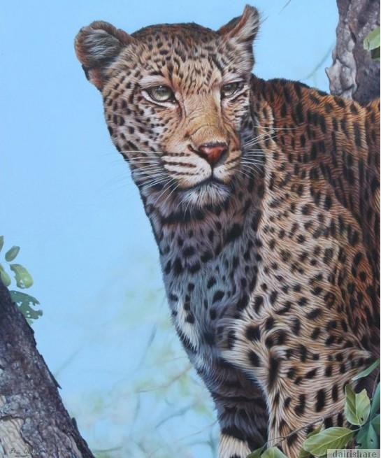 Lukisan Gambar Haiwan Yang Kelihatan Hidup
