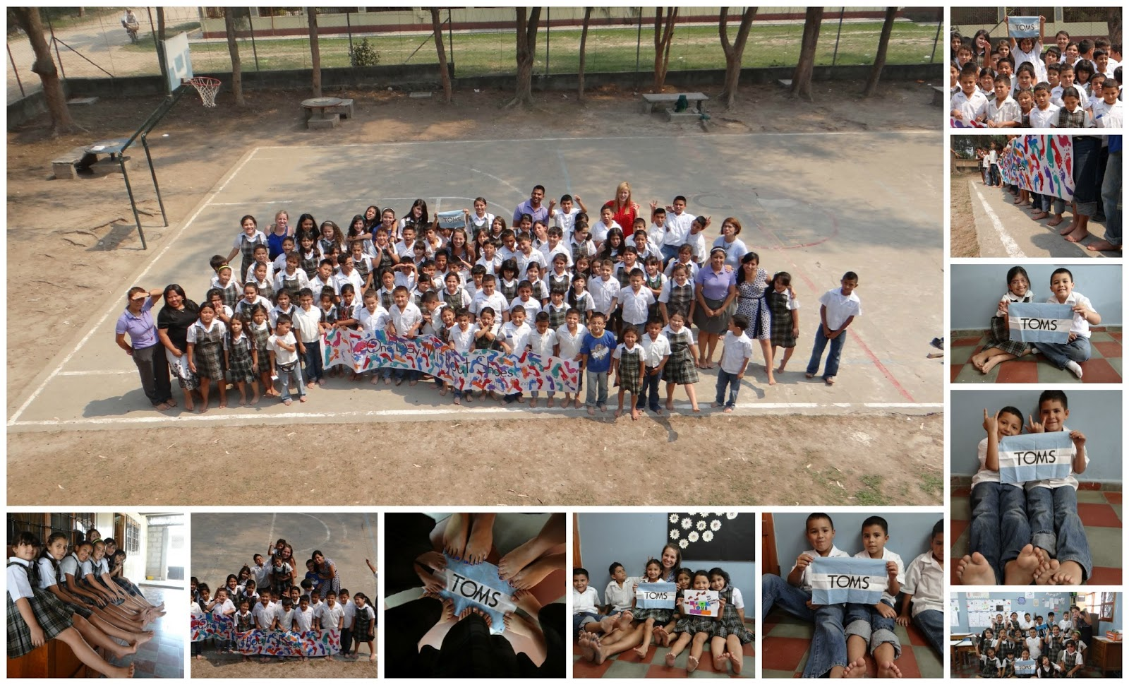 d0a4b769827 I love TOMS shoes. I love One Day Without Shoes. I love sharing this love  with my students. So for the second year in a row (you can ...