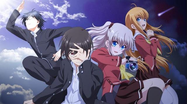 Charlotte - Best Time Travel Anime List