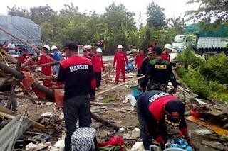 Tim Bagana Terjun Bantu Korban Puting Beliung di Pati dan Rembang