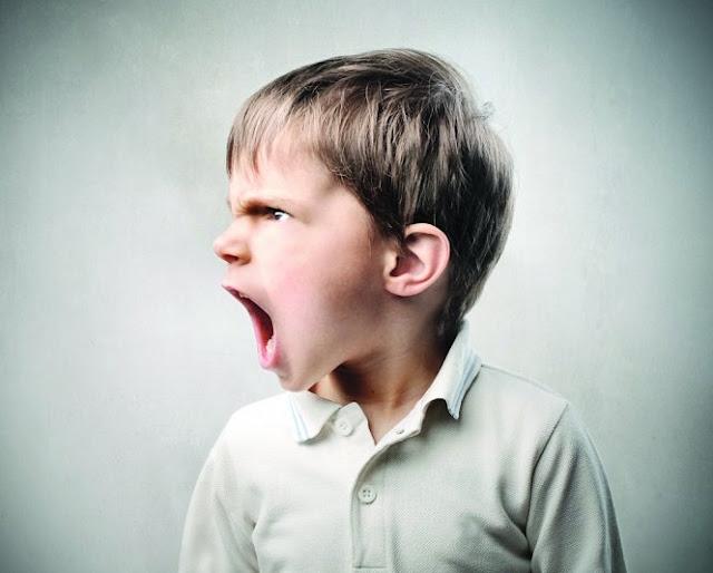 التوتر و الغضب  لدى الأطفال