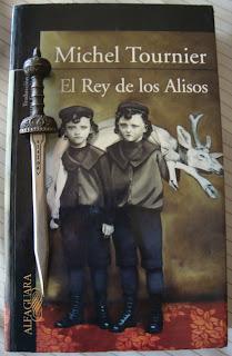 Portada del libro El rey de los alisos, de Michel Tournier