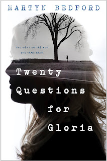 http://www.amazon.com/Twenty-Questions-Gloria-Martyn-Bedford/dp/0553539396/