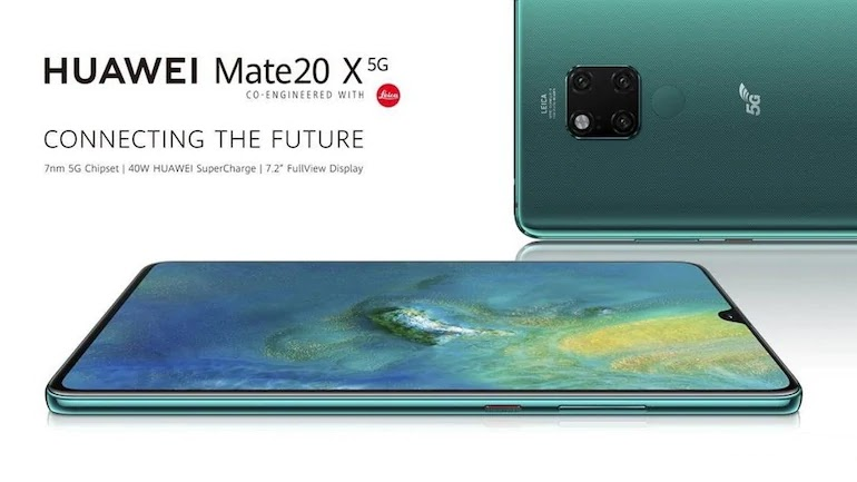 Huawei Mate 20 X 5G Smartphone Launch Launch, Equipped With 40 Watt Fast Charging Support