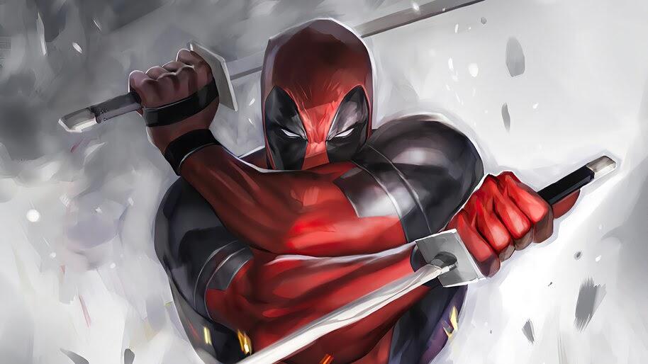 Deadpool, Katana, 4K, #6.2392