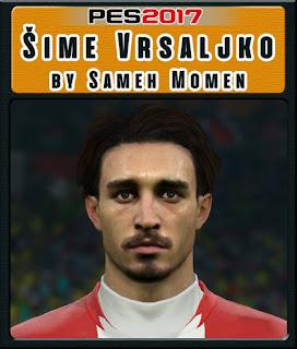 PES 2017 Faces Šime Vrsaljko by Sameh Momen