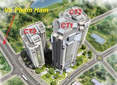 Phối cảnh dự án Chung cư E4 Vũ Phạm Hàm