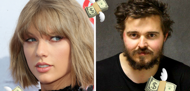 Man 'robs bank and throws cash over Taylor Swift's fence'