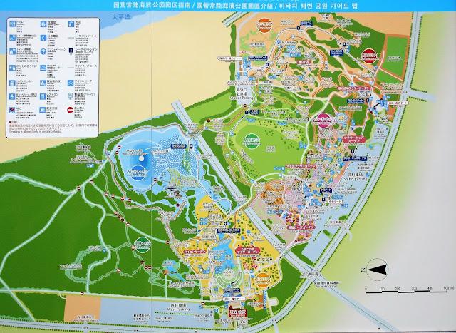 国営ひたち海浜公園の地図