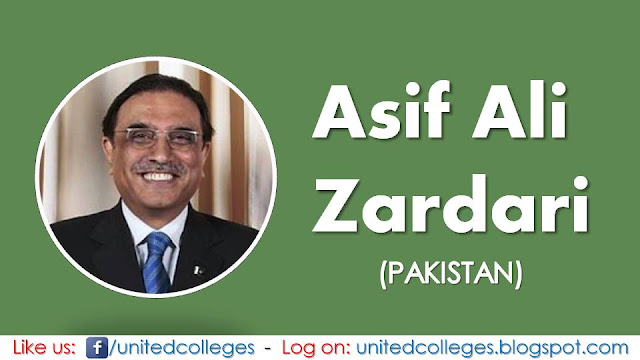 Asif Ali Zardari (Pakistan)