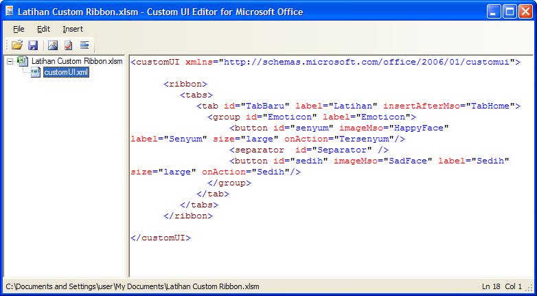 Cara Menggunakan Custom UI Editor  Rumusex Rumus Excel