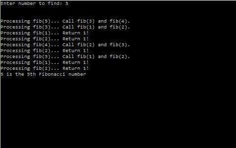 Find the nth Fibonacci number in C/C++ Language | C, C++