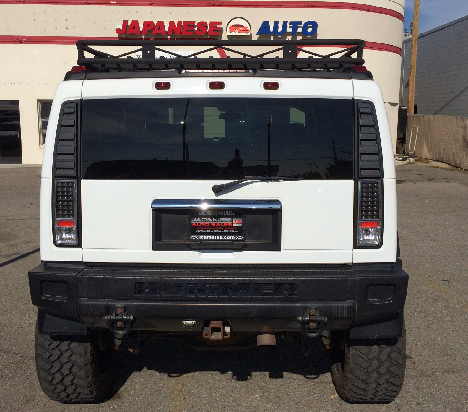 the Road With Zoom Customized Hummer H2 with Lambo Doors