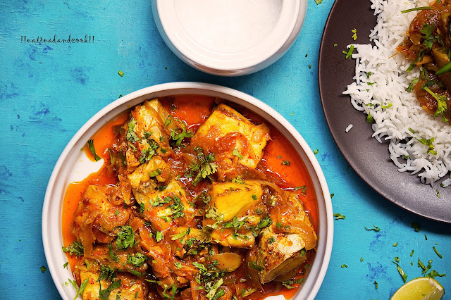 Simple One Pot Fish Cury recipe and preparation