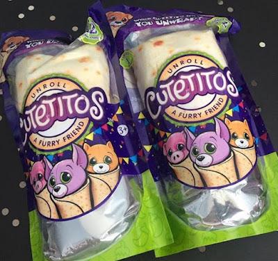 Буррито с мягкими игрушками Cutetitos