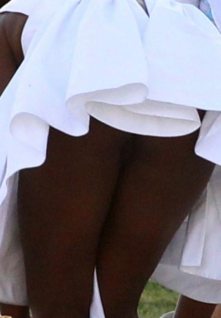 Too seemed Naomi campbell no panties