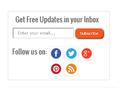 Email Subscription Widget 3